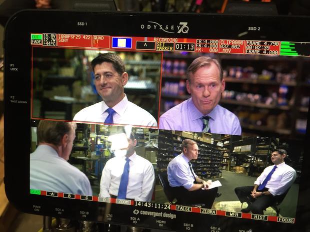 John Dickerson Interviews Speaker Paul Ryan