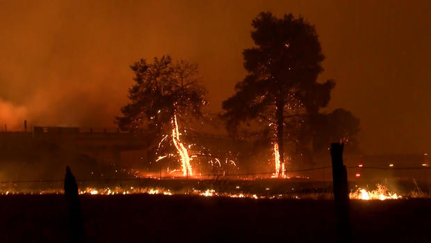 Northern California wildfires