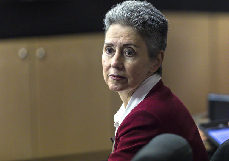 Donna Horwitz at her second trial