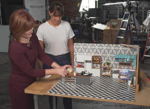 "Creating tiny food for ""Tiny Kitchen"""