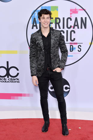 2017 American Music Awards red carpet