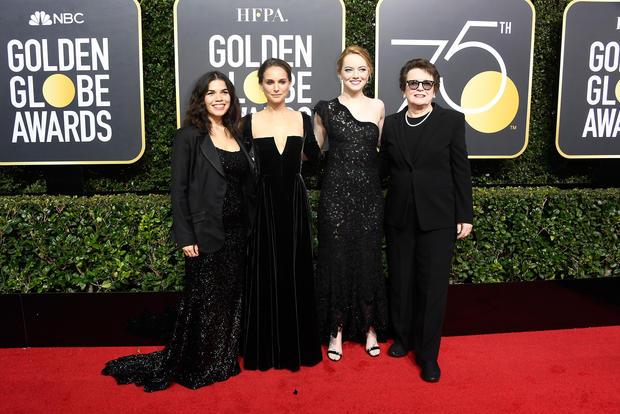 Golden Globes red carpet 2018