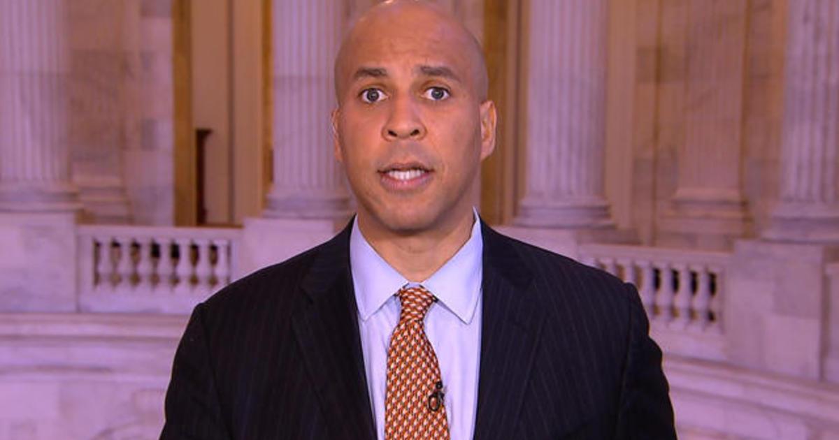 Cory Booker says DHS Secretary Kirstjen Nielsen