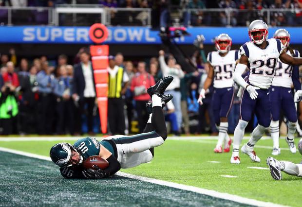 NFL:超级碗LII-费城老鹰队对新英格兰爱国者队
