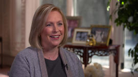 Gillibrand's message for female candidates