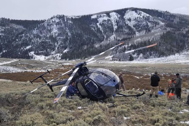 麋鹿坠毁直升机