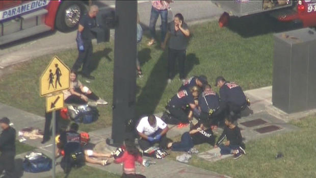 Shooting at high school in Parkland, Florida