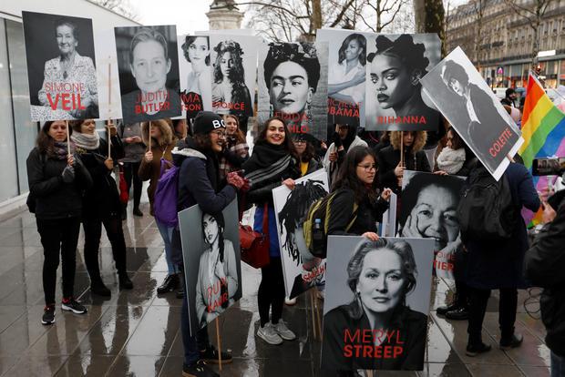 Rallies mark International Women's Day 2018