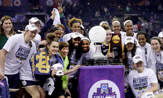 Notre dame ncaa champs 2018