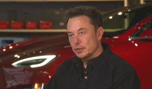 """Stressed but """"optimistic,"""" Tesla CEO offers rare look inside Model 3 factory"""