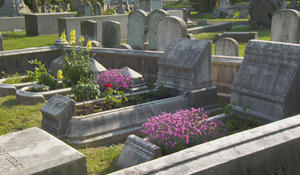 Grave gardening: Tending more than just flowers