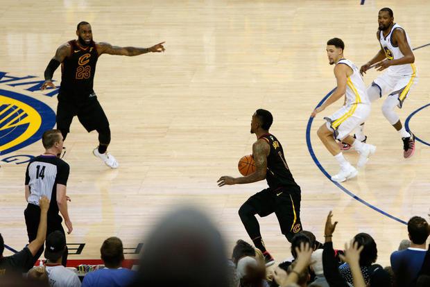2018年NBA总决赛 - 第一场比赛