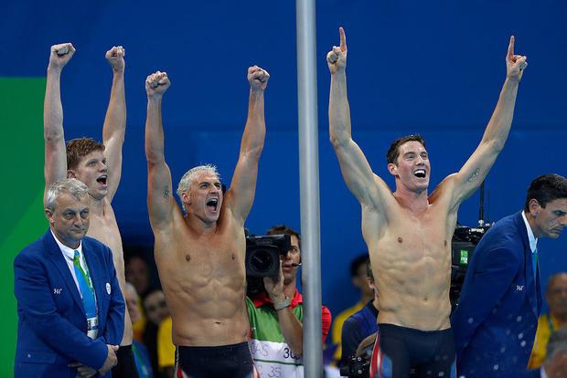 游泳 - 奥运会:第4天