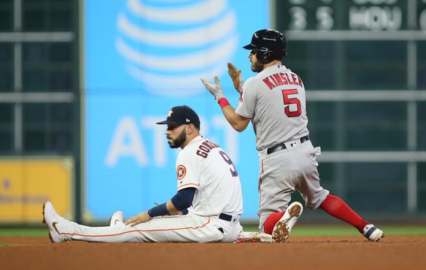 MLB:休斯顿太空人队的ALCS-波士顿红袜队