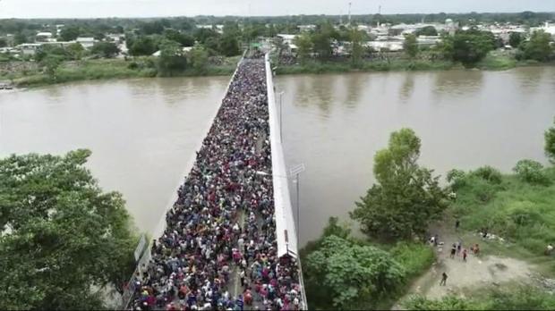 APTOPIX中美洲移民大篷车