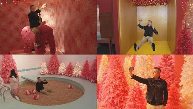 弹出式广告博物馆 - 的 - 冰淇淋 - 卢克 - 伯班克自拍-620.jpg