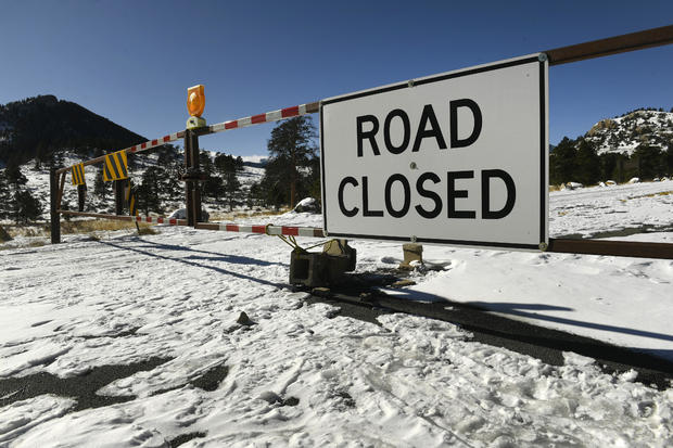 政府停工关闭联邦设施。
