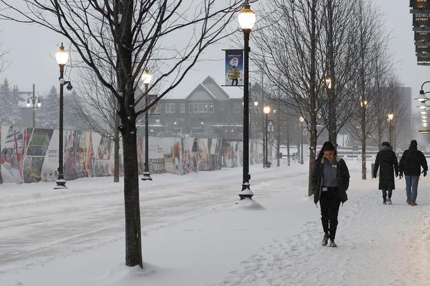 密歇根州冬季天气