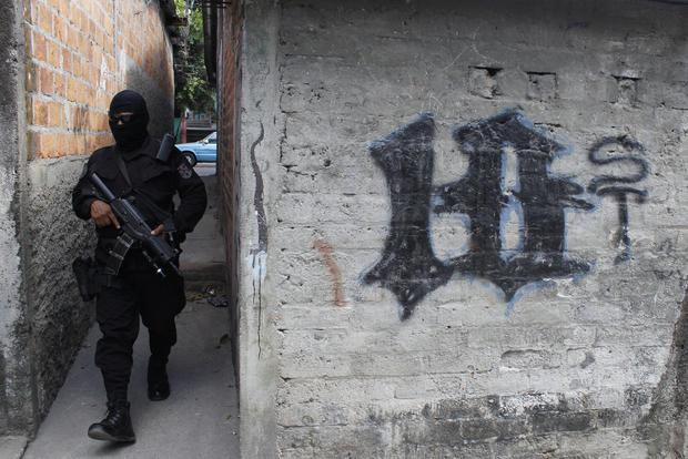 萨尔瓦多帮派暴力事件