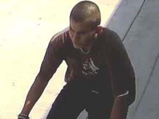 在洛杉矶警察局发布的一张照片中可以看到洛杉矶及其附近的一系列嫌疑人。