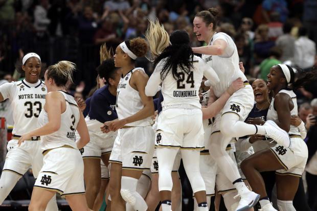 最后四个UConn Notre Dame篮球