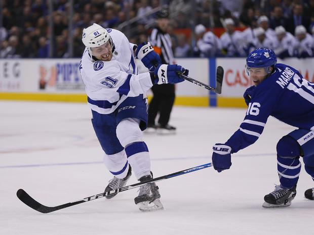 NHL:多伦多枫叶队的坦帕湾闪电