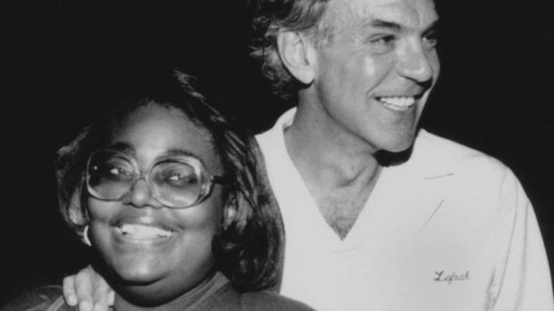 Eva Baisey and Dr. Ed Lefrak