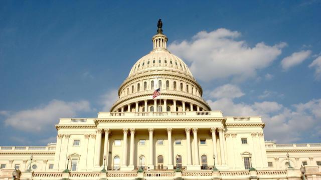U.S. Capitol In Washington