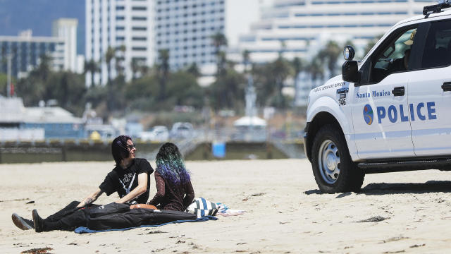 California reopens: No sitting on the beach