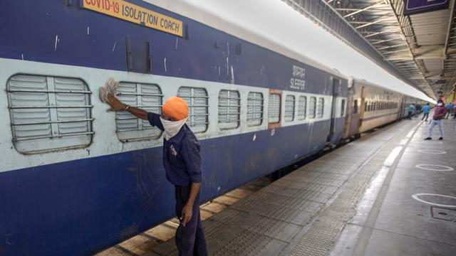 Train Coaches Converted Into Isolation Ward For COVID-19 Patients