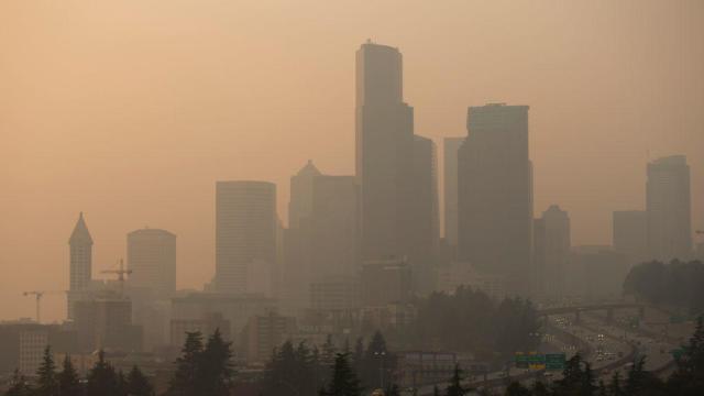 Seattle wildfire smoke