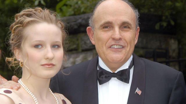 Wedding of Rudy Giuliani and Judi Nathan