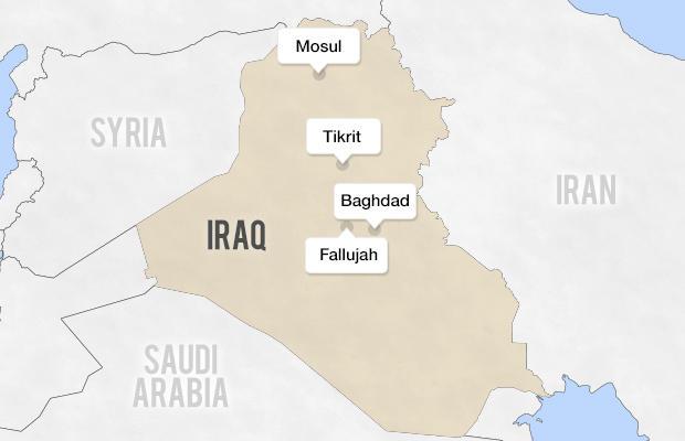 Another Iraqi city Tikrit falls to jihadists officials say CBS News