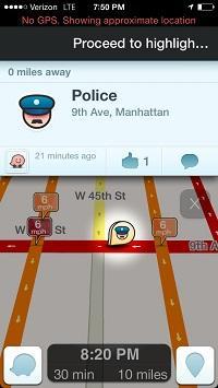 Police alert