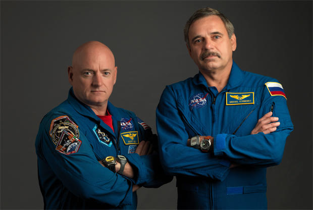 astronaut stayed in space for a year - photo #15