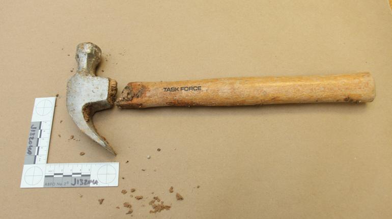 The murder weapon