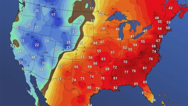 Eastern United States Weather Map Thefreebiedepot Another Cold