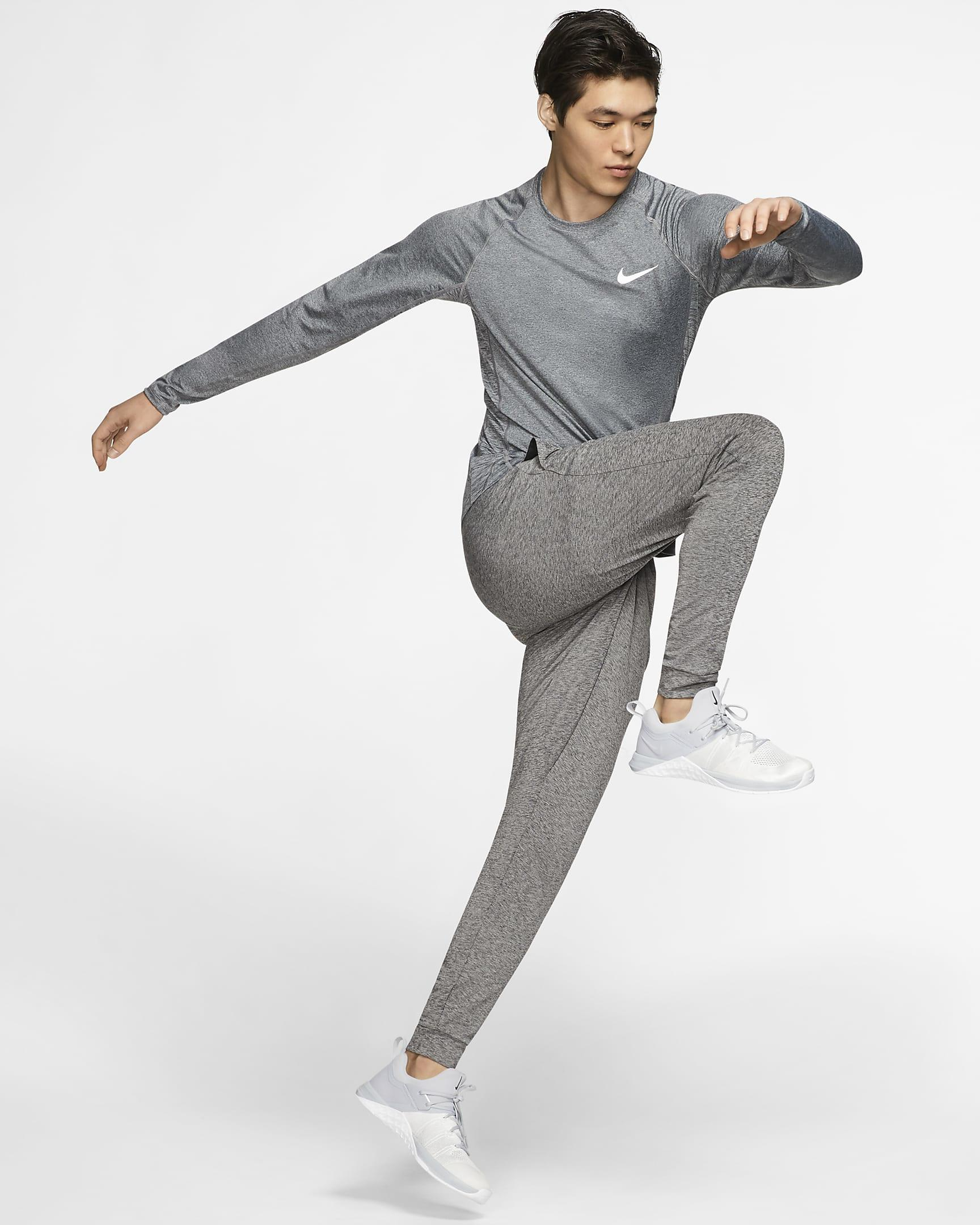 Nike Pro men's long-sleeve shirt
