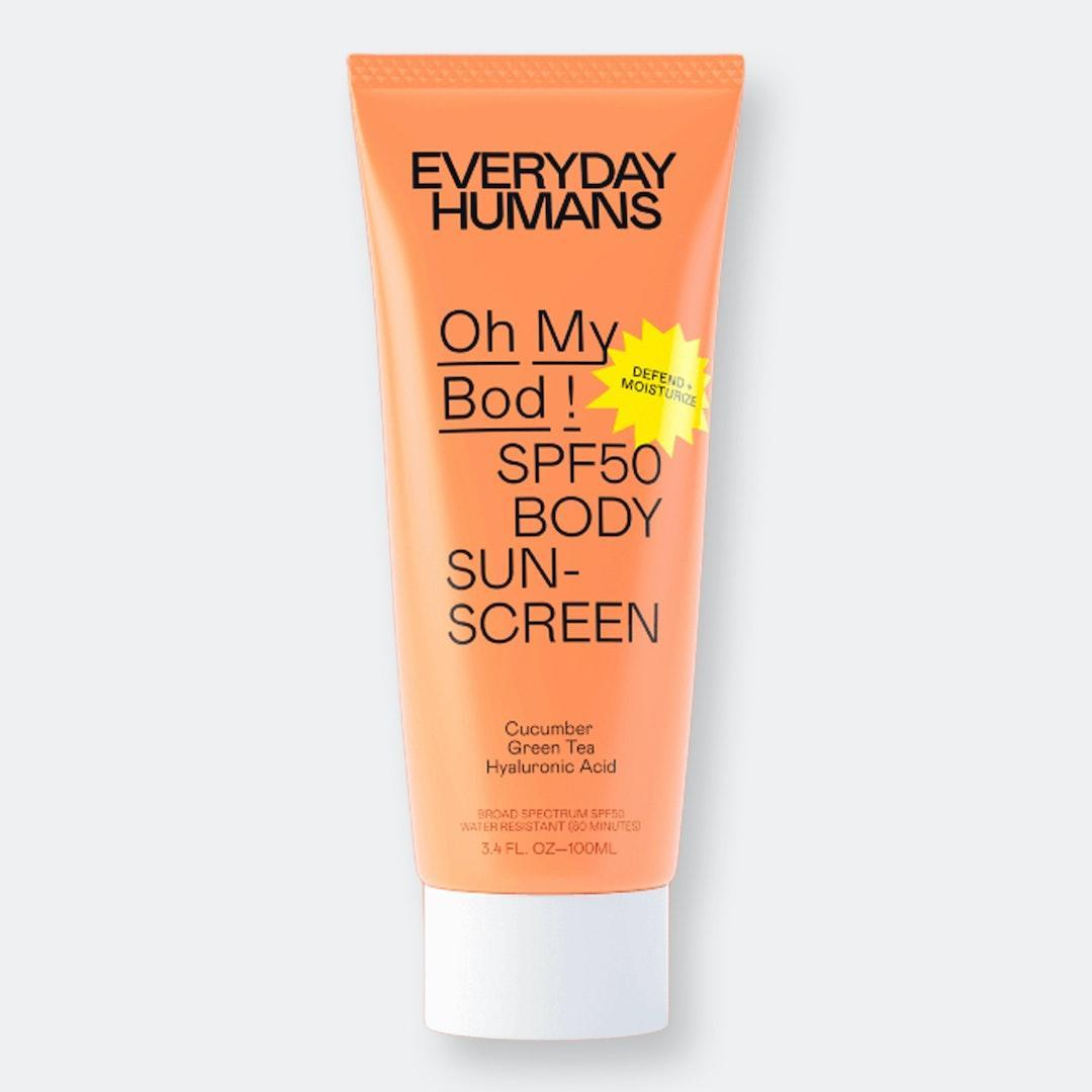 Everyday Humans Oh My Bod! SPF50 Body Sunscreen