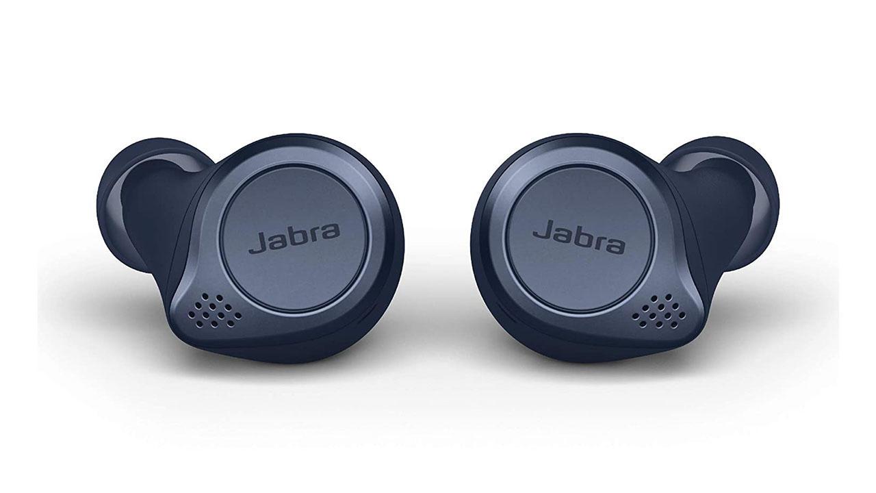 Jabra Elite Active 75t True Wireless Bluetooth Earbuds, Navy