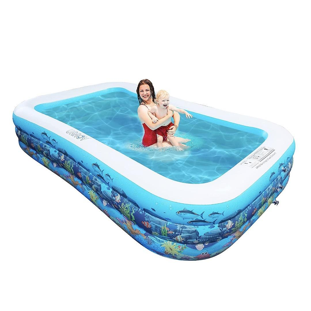 Urroy Full-Size Inflatable Swimming Pool