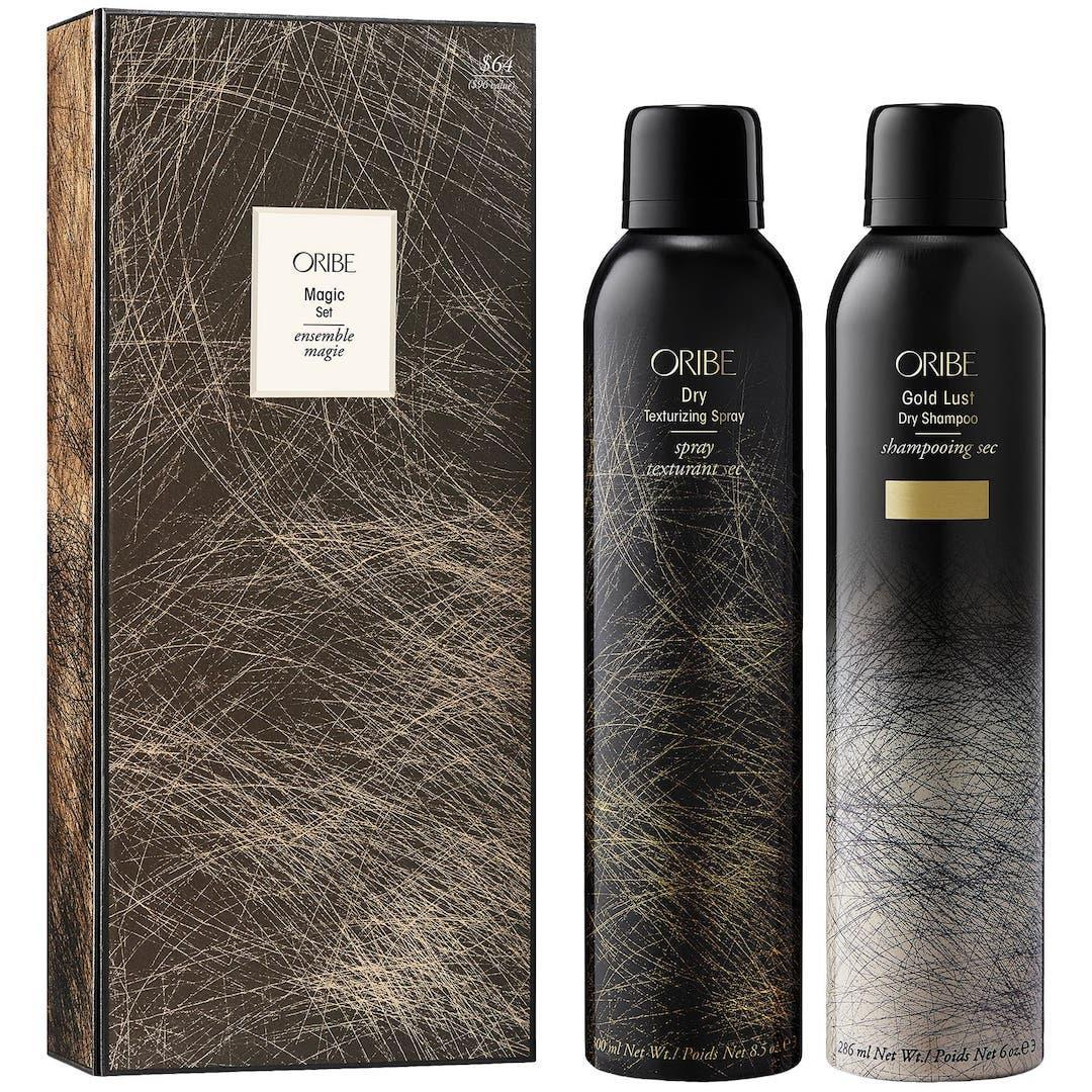 Oribe magic duo dry shampoo and dry texturizing spray set