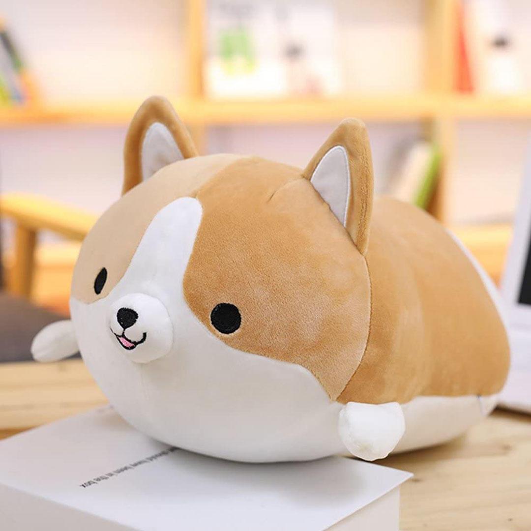 Corgi Dog Plush Pillow