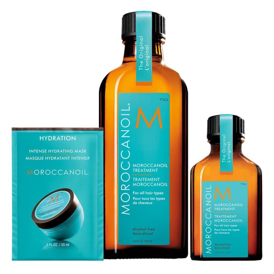 Moroccan Oil treatment set