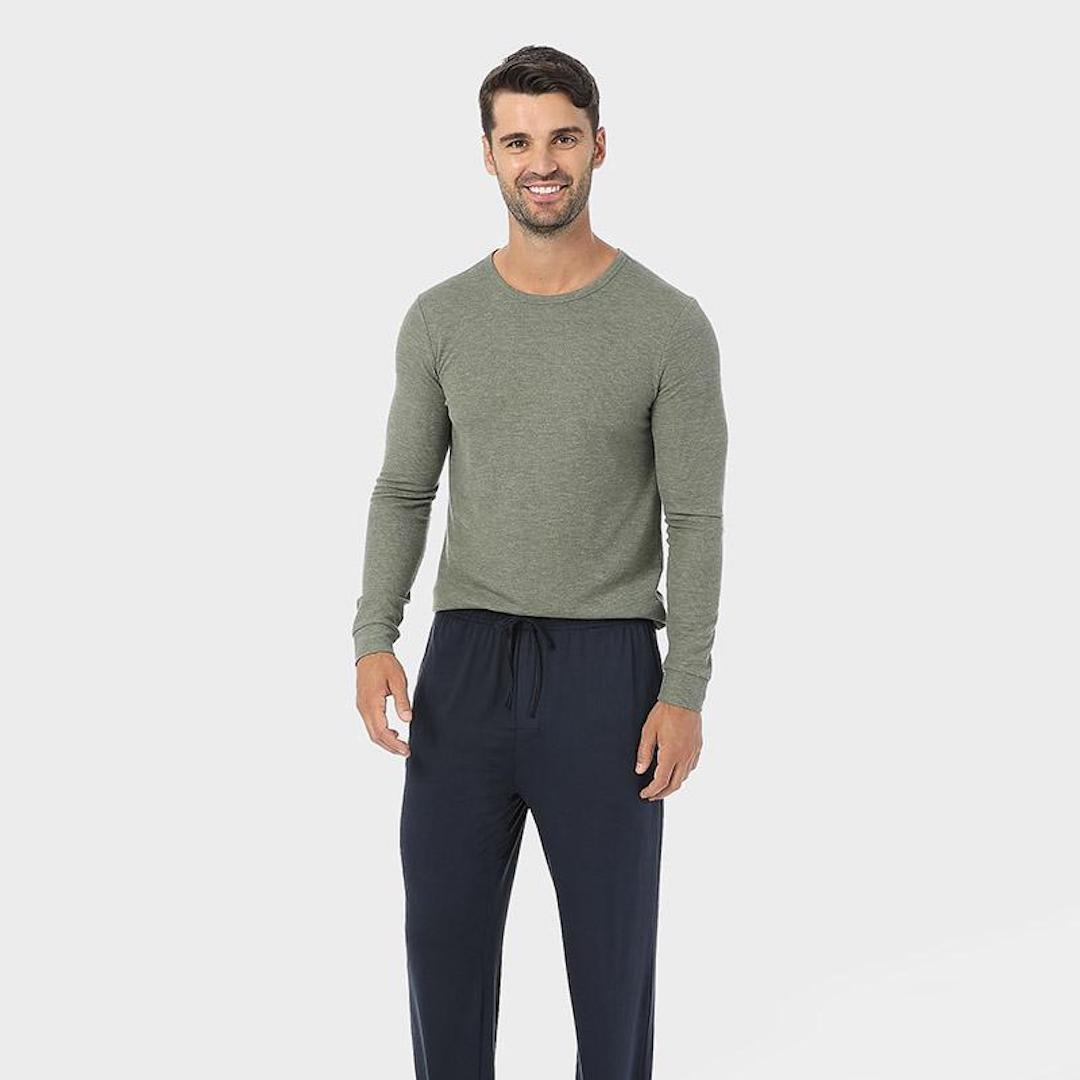MIDWEIGHT WAFFLE BASELAYER CREW TOP