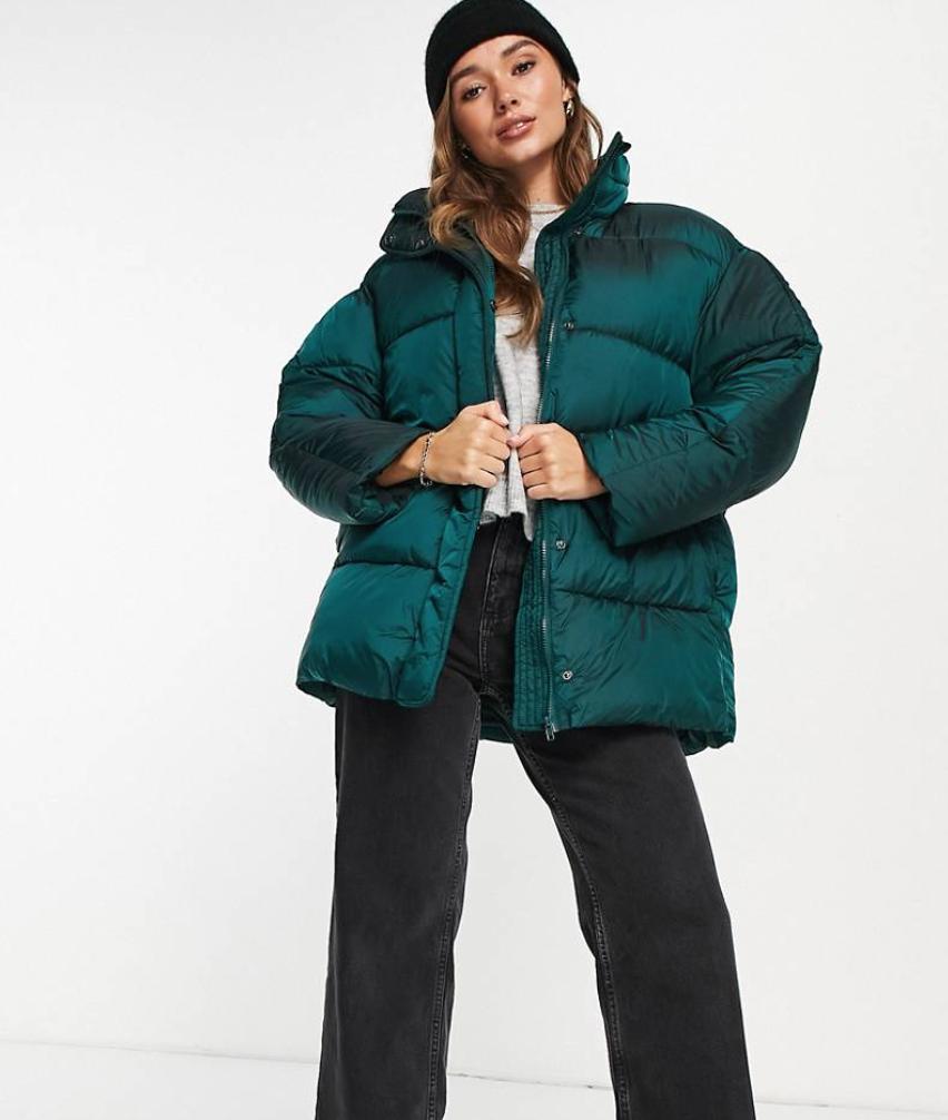 ASOS Design luxe oversized puffer jacket