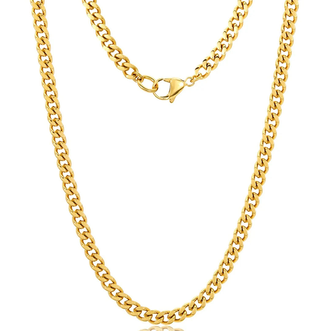 gold vermeil Cuban Link chain
