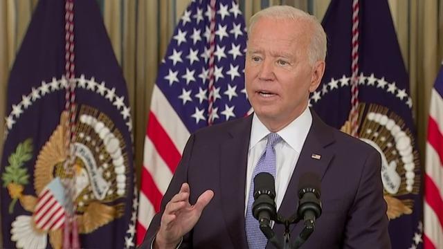 Biden urges passage of two key bills amid legislative