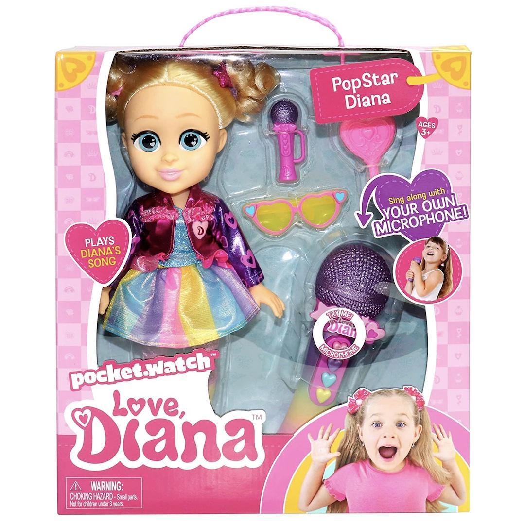 Love, Diana Sing Along Popstar Doll
