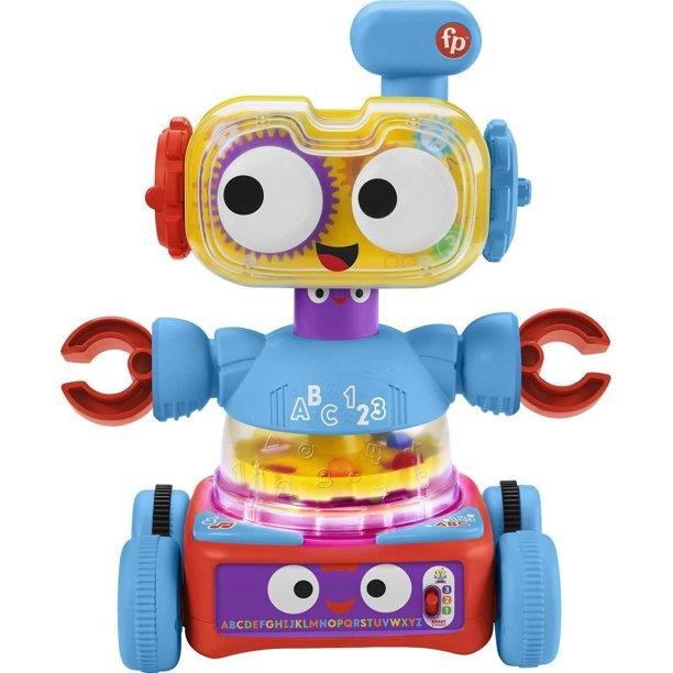 Fisher-Price 4-In-1 Ultimate Learning Bot Infant Electronic Activity Toy